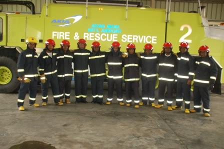Aircraft Fire fighting personnel
